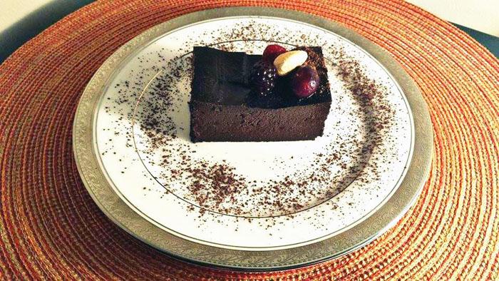 avocado brownie
